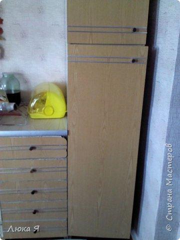 Было у меня два варианта: убрать шкаф или отремонтировать. Я решила пойти вторым путем и отремонтировать, пусть еще послужит) фото 3