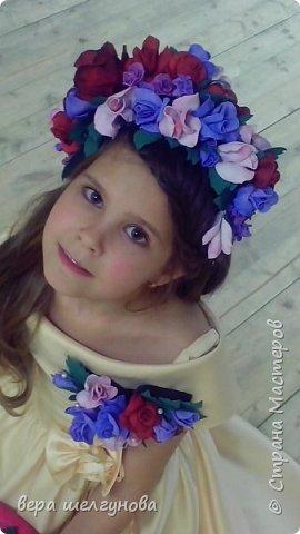 Работы сделанные  для конкурса Росатом береста Даниила очелье и украшение на шею фото модель Юля и Аленка. фото 8