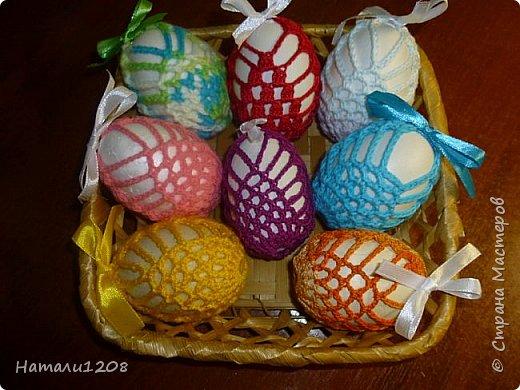 К Пасхе. Мешочки  для пасхальных яичек. фото 2