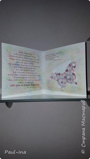 Ещё одна открыточка на д. рождение для девочки. фото 3