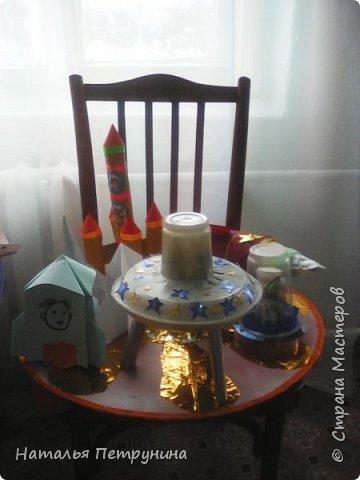 •Мастер-класс по изготовлению летающей тарелки с инопланетянином фото 2