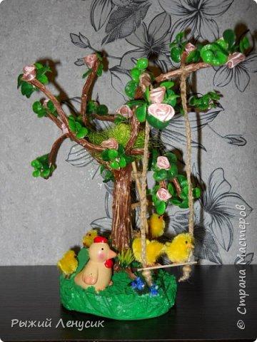"""Добрый день!!!  Это наш """"детский сад"""" на прогулке. Качельки, лесенка, домик на дереве... В общем все, что детенышу надо (песочница не  поместилась ) фото 3"""