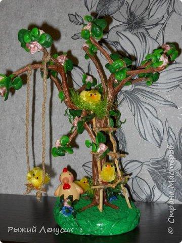 """Добрый день!!!  Это наш """"детский сад"""" на прогулке. Качельки, лесенка, домик на дереве... В общем все, что детенышу надо (песочница не  поместилась ) фото 1"""