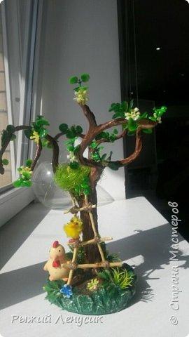 """Добрый день!!!  Это наш """"детский сад"""" на прогулке. Качельки, лесенка, домик на дереве... В общем все, что детенышу надо (песочница не  поместилась ) фото 4"""