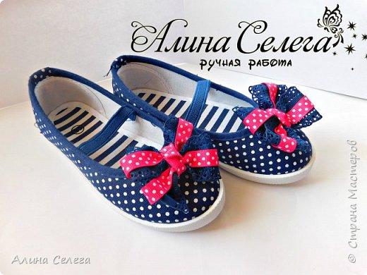 МК Маленькие бантики на липучке для обуви/ МК Алина Селега фото 1