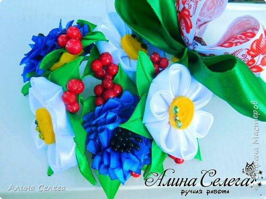 МК Резинка на гульку канзаши / МК Алина Селега  фото 3