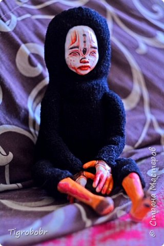 Доброго дня! Буквально сегодня утром доделала куклёныша.  фото 2