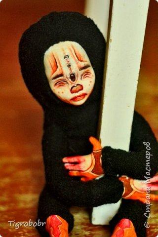 Доброго дня! Буквально сегодня утром доделала куклёныша.  фото 3
