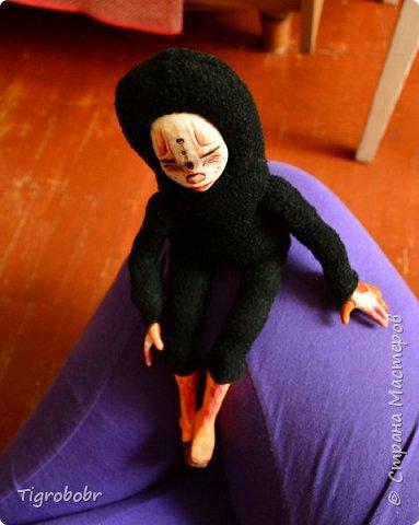 Доброго дня! Буквально сегодня утром доделала куклёныша.  фото 4