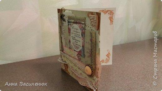 Еще одна открыточка в пастельных тонах)) фото 3