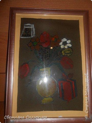 букет для мамы  и корзина с фруктами фото 1