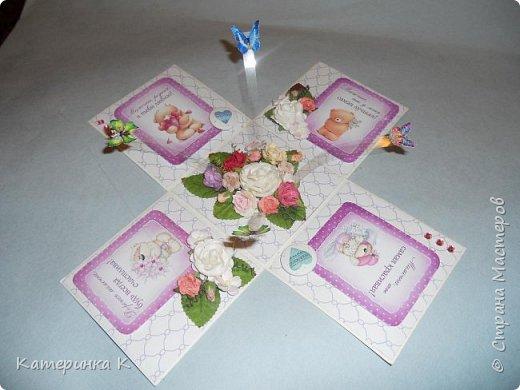Коробка-открытка для Мамы фото 4