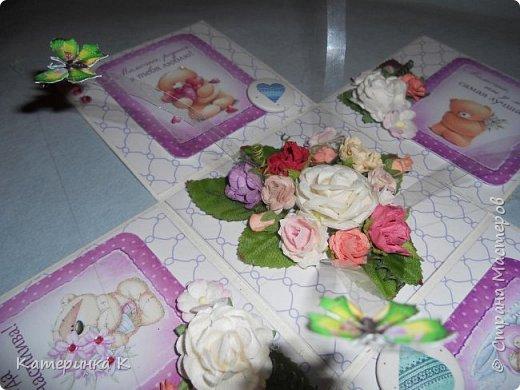 Коробка-открытка для Мамы фото 5