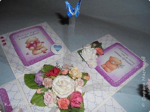 Коробка-открытка для Мамы фото 6
