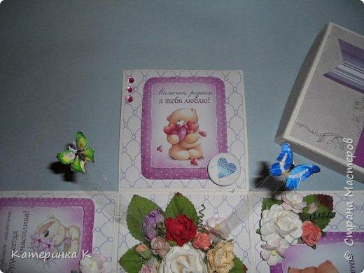 Коробка-открытка для Мамы фото 7