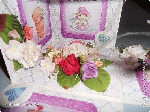 Коробка-открытка для Мамы фото 8