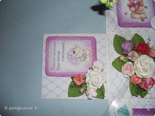 Коробка-открытка для Мамы фото 9
