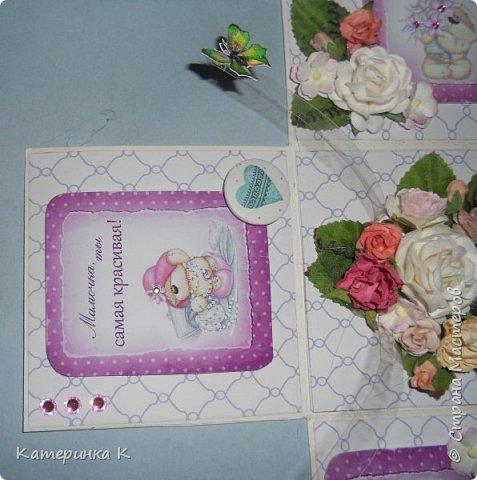 Коробка-открытка для Мамы фото 10
