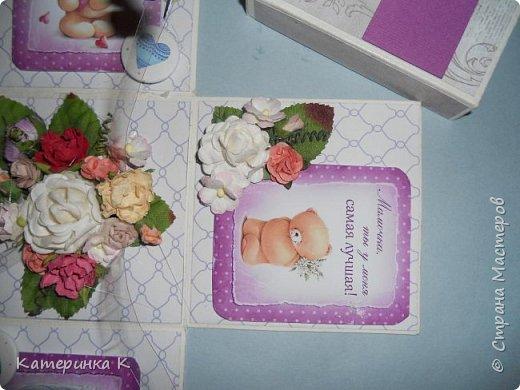 Коробка-открытка для Мамы фото 11