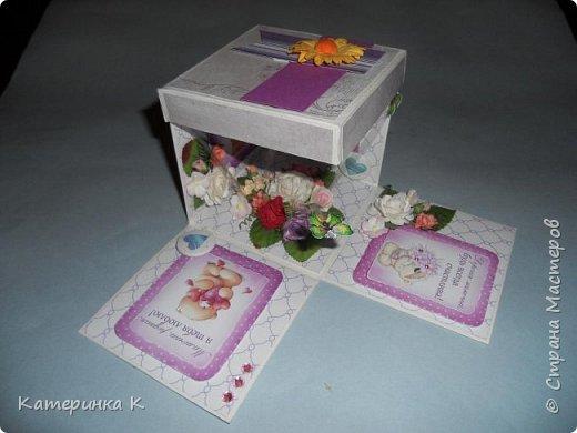 Коробка-открытка для Мамы фото 3