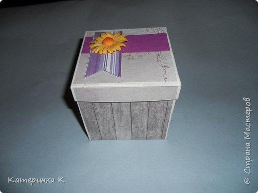 Коробка-открытка для Мамы фото 1