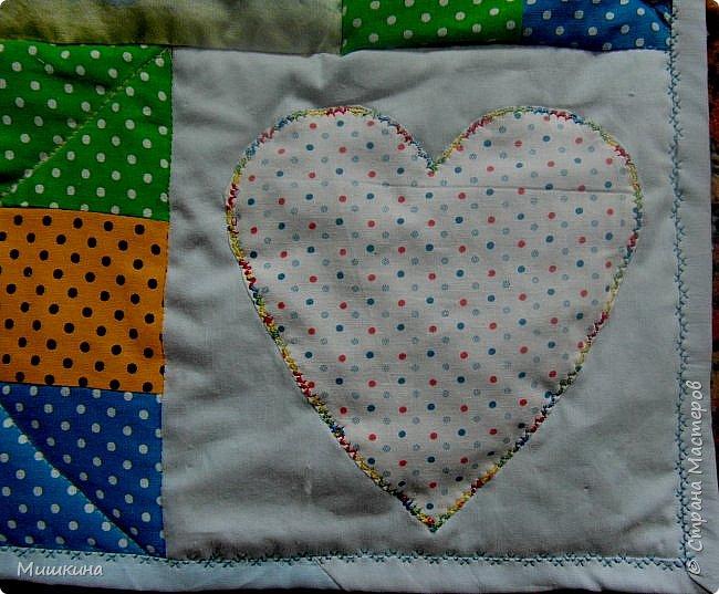Рада всех видеть! Представляю второе детское одеяло детского размера 1*1,2. фото 2