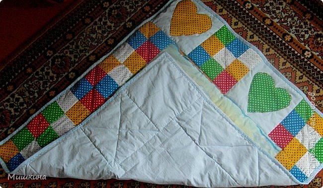 Рада всех видеть! Представляю второе детское одеяло детского размера 1*1,2. фото 7