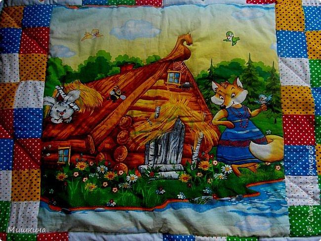 Рада всех видеть! Представляю второе детское одеяло детского размера 1*1,2. фото 6