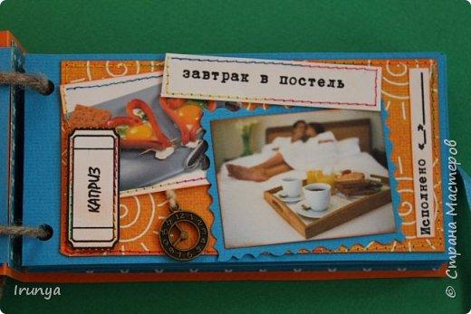 Чековая книжка желаний была сделана для любимого мужа, картинки взяты из интернета фото 4