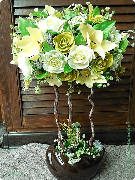 Все цветы ручная работа фоамиран фото 1