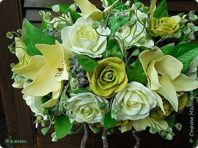 Все цветы ручная работа фоамиран фото 2