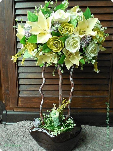 Все цветы ручная работа фоамиран фото 3