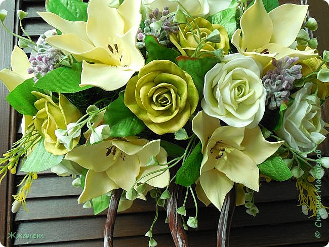 Все цветы ручная работа фоамиран фото 5