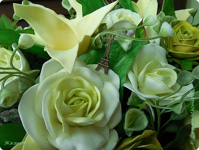 Все цветы ручная работа фоамиран фото 4