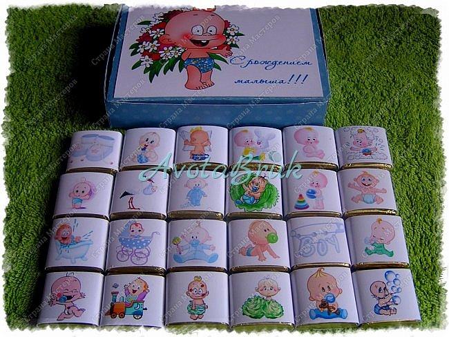 Вот такие коробочки с конфетами наделала родным и близким по разным поводам ) Как делать обертки на конфетки можно посмотреть тут https://stranamasterov.ru/node/1017910 видео тут https://youtu.be/-vAN_74cCpY  фото 2