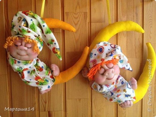 Здравствуйте,Страна Мастеров! Сшила ещё немного Сплюшек. Дети и родители от них просто в восторге, да и в детской комнате с такими ангелочками уютнее))) фото 8