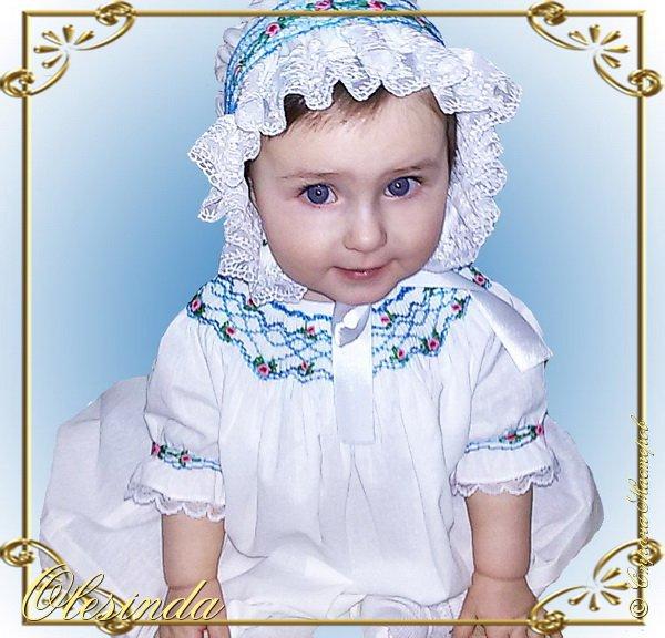 Здравствуйте! Вот такое летнее платьице я сшила свое маленькой дочке. Это просторное платье покроя реглан и украшено буфами от выреза горловины до плеч. В этом мастер-классе я покажу вам, как самой сделать выкройку и сшить такое платье. фото 47