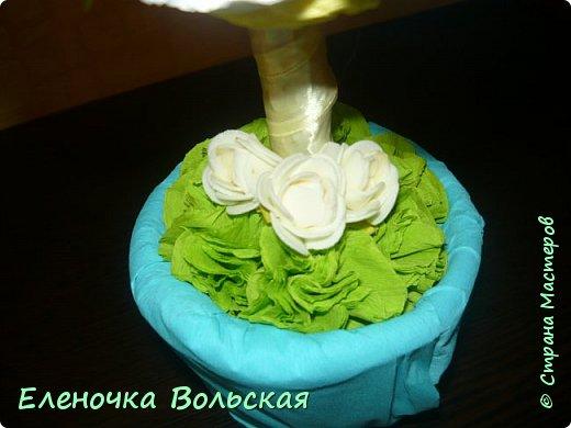 """""""Весенний"""" топиарий в подарок ;) фото 5"""