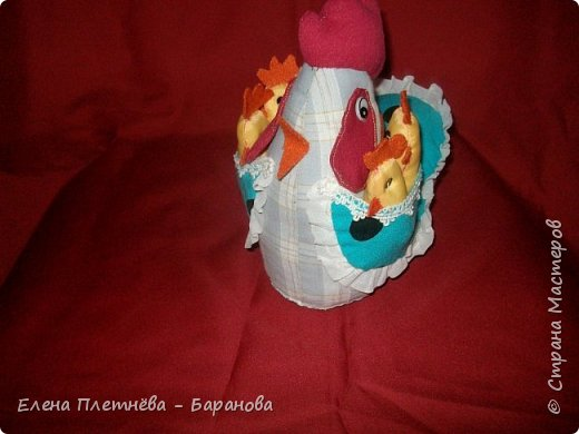 Курочка с цыплятами фото 1