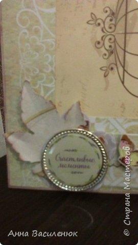 Нежная открытка -рамка для семейной пары)) фото 7