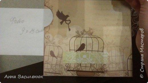 Нежная открытка -рамка для семейной пары)) фото 9