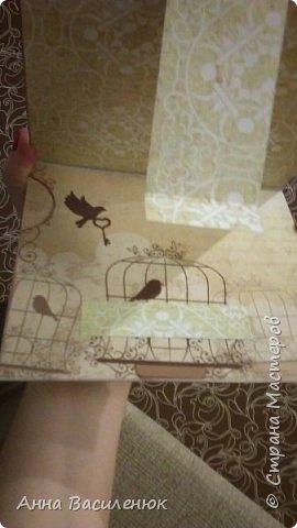 Нежная открытка -рамка для семейной пары)) фото 5