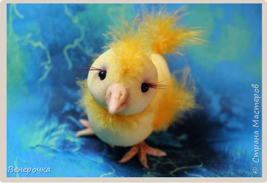 Цыпленок Цыпа из капрона  фото 1
