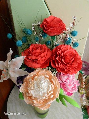 К юбилею д/с  попросили оформить напольную вазу. фото 2
