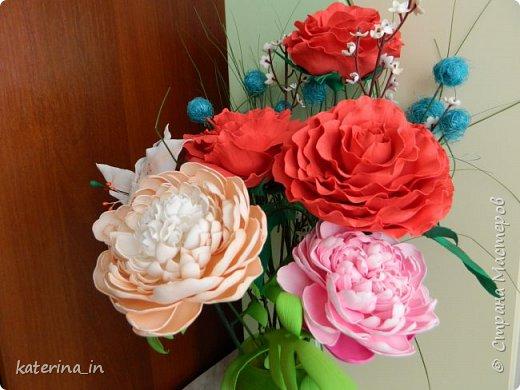 К юбилею д/с  попросили оформить напольную вазу. фото 3