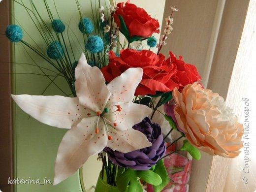 К юбилею д/с  попросили оформить напольную вазу. фото 4