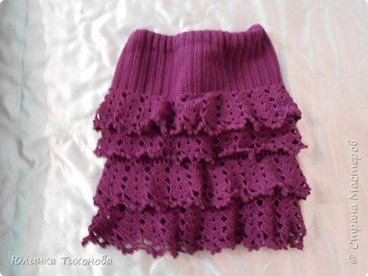 Здравствуйте, Дорогие Мастера!) Хочу поделиться такой юбочкой)  Идею я нашла в интернете http://www.liveinternet.ru/users/4700874/post291197239  фото 1