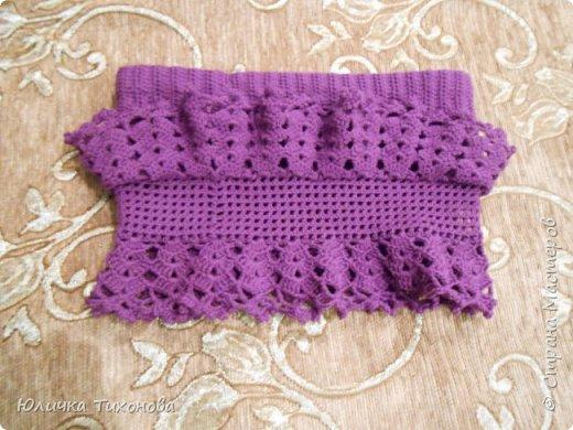 Здравствуйте, Дорогие Мастера!) Хочу поделиться такой юбочкой)  Идею я нашла в интернете http://www.liveinternet.ru/users/4700874/post291197239  фото 5