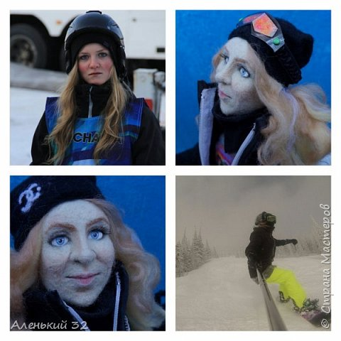 Сноубордистка фото 3