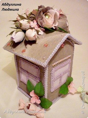 Сделала домик для племяшки в подарок!!! Плюс к основному подарку!!! фото 3